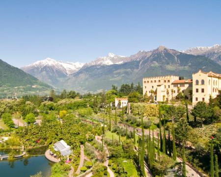 Dorf Tirol > Botanischen Gärten von Schloss Trauttmansdorff