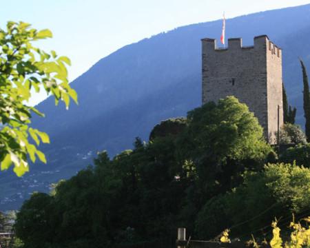 Dorf Tirol > Panoramaweg > Gilf > Promenade, Meran